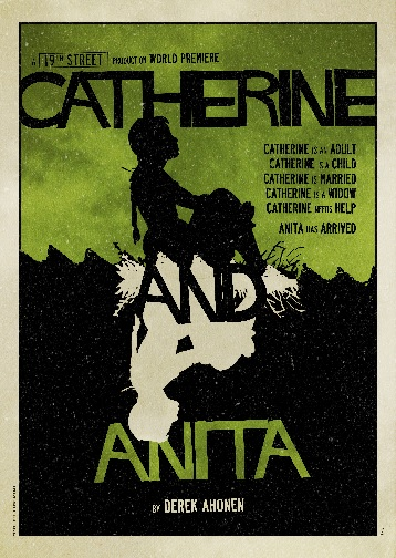 Catherine and Anita Poster